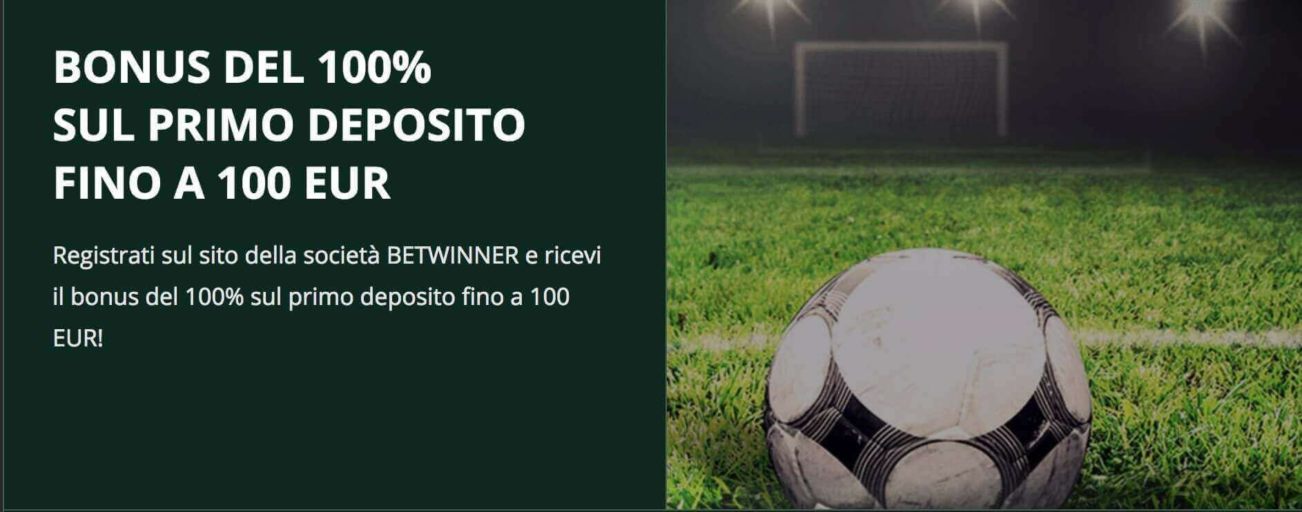 Betwinner Bonus Calcio